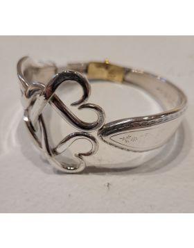 Hearts 2 Bracelet from Dinner Fork – JM002