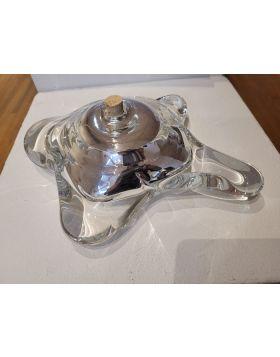 Blown Glass Mirrored Vase 19-MOB