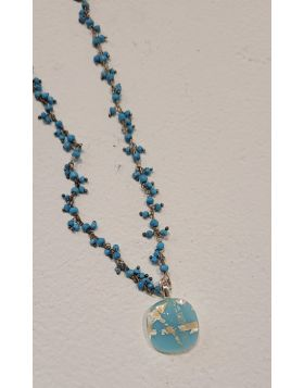 Turquoise Necklace  – 14 SFB