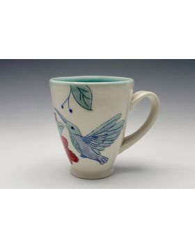 Mug with Hummingbird