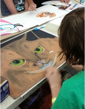 Painting & Drawing (ages 8-11)