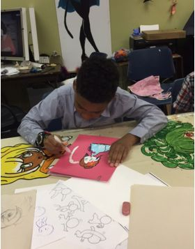Cartooning: Outdoors (ages 6-9)
