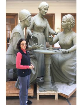 Breaking the Bronze Ceiling: Envisioning & Creating the First Sculpture of Real Women in Central Park-Date Sunday, November 8-(SELECT PRICE)