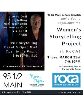 Women's Storytelling Project March 21st (Click link for tickets)