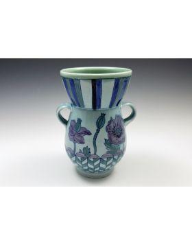 Purple Poppy Vase