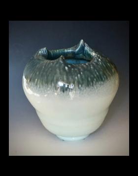 Wave Top Vase